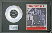 "HERMANS HERMITS-7""Platinum Disc &songsheet-SILLHOUETTES"